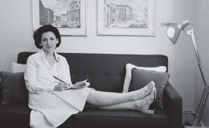 Ada Louise Huxtable in 1974, four years after winning the first Pulitzer Prize for distinguished criticism.