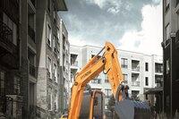 R60CR-9A compact-radius excavator from Hyundai