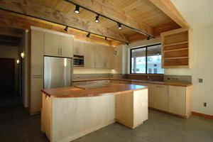 The home's kitchen includes Energy Star-rated appliances and FSC-certifed countertops and cabinets.