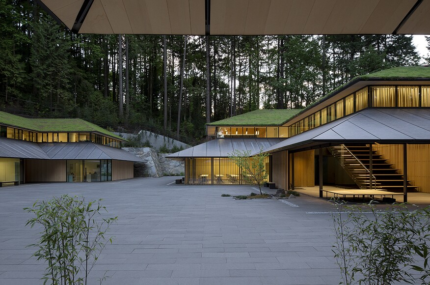 Portland Japanese Garden Cultural Village | Architect Magazine | Kengo Kuma U0026 Associates ...