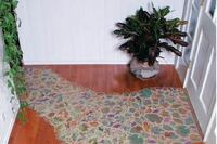 Inlaying Ceramic Tile in a Wood Floor