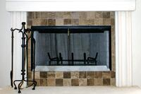 Mission Stone Fireplace Surrounds
