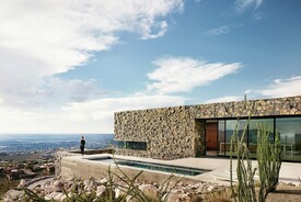 Rocky Retreat Sits Perched Above El Paso, Texas