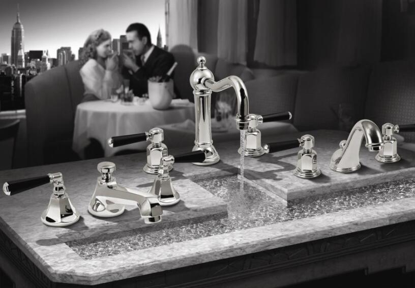 California Faucets Art Deco Collection