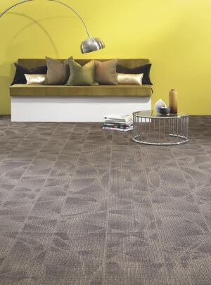 Dolce Collection broadloom carpet  The New Pat Craft & Designweave  www.thenewpatcraftdesigneweave.com  Five patterns: Gio, Duni, Carlo, Nino, and Lina    100 percent Eco Solution Q    Synthetic backing 10 colorwars available    Made with recycled content    Contributes toward LEED points    12-foot width