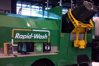 Rapid-Wash + Waste container cleaning systems