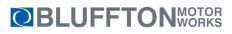 Bluffton Motor Works - WEG Group Logo