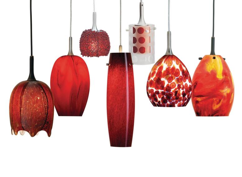 Nora Lighting Radiant Reds Collection
