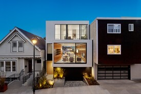 Elegant Infill House Packs Thoughtful Details and Downtown Views