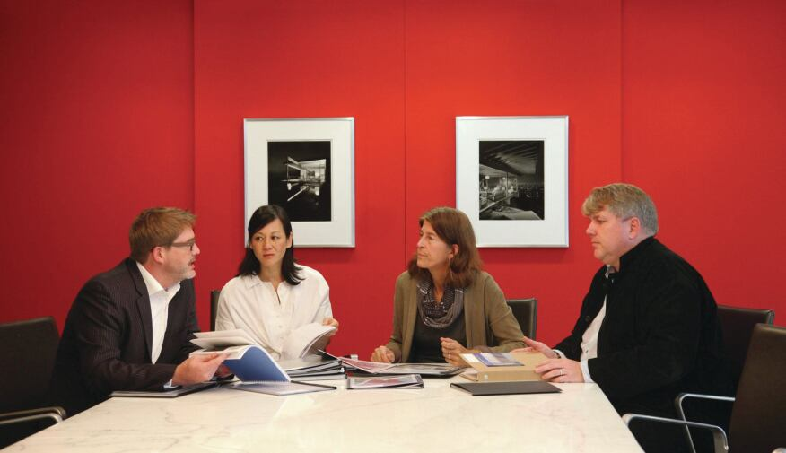 David Dowell, AIA; Cathy Lang Ho; Sheila Kennedy, AIA; David Jameson, FAIA