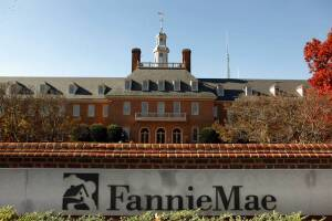 """Fannie Mae's """"old"""" building outside downtown DC."""