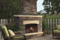 Outdoor Kitchens With a Stacked-Stone Look