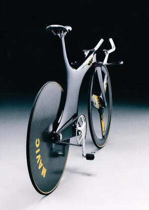 Chris Boardman's Lotus Type 108 Olympic Pursuit Bike, designed by Mike Burrows.