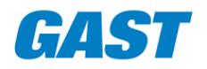 Gast Mfg., Inc. Logo