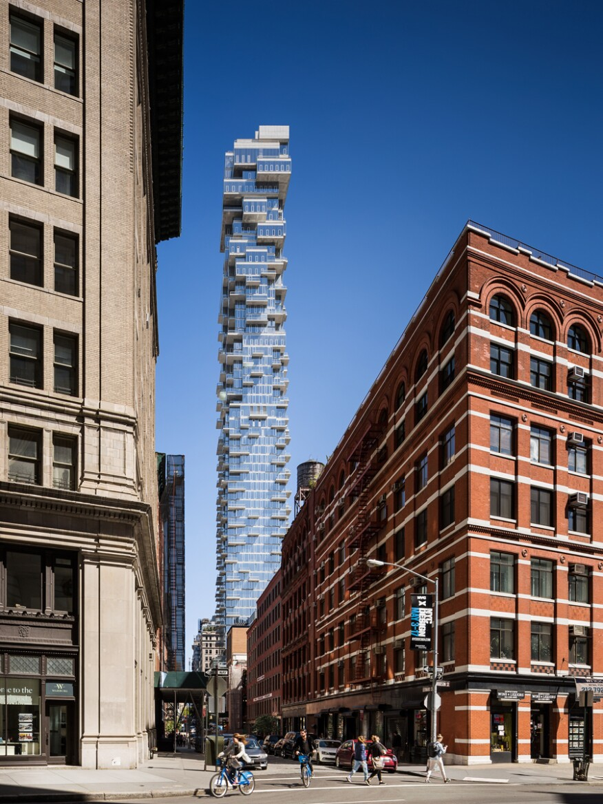 56 Leonard in New York by Herzog & De Meuron