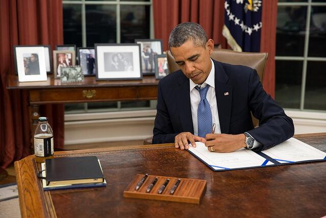 President Obama Signs Flood Insurance Relief Bill Into Law