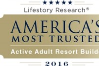 Who is America's Most Trusted Active Adult Community Builder?