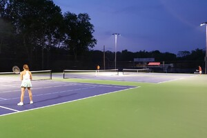 City Serves Up a New Tennis Court
