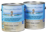 EP HIGH BUILD  Superior high build epoxy coating is formulated to provide the longest lasting finish of any pool paint.