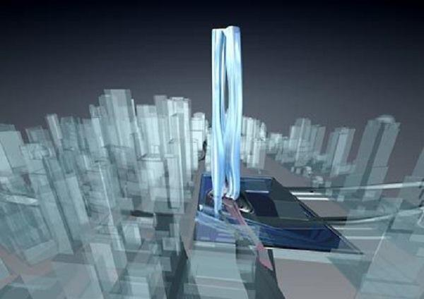 The Ground Zero entry by UN Studio
