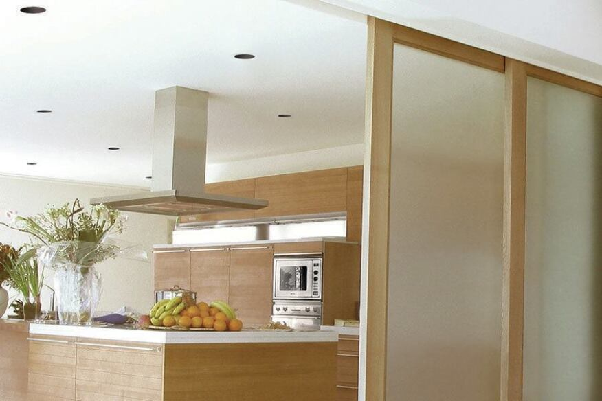 Le johnson sliding multi pass and by pass pocket door for Multi track sliding doors