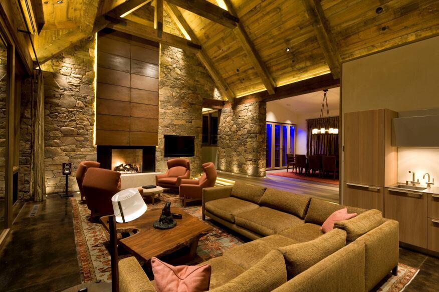 Professional Residential Category - WinnerProject: Morningstar Residence, Aspen, Colo.Lighting Designers: Robert Singer and Associates, Basalt, Colo.