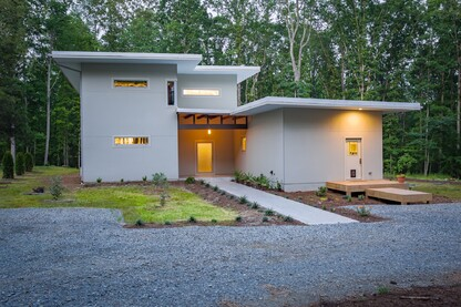 Modern Net Zero Passive Home in Chapel Hill