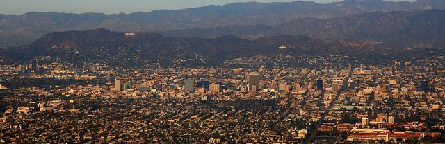 Laid at the base of the Hollywood Hills, Los Angeles spreads out in all directions with seemingly infinite avenues that terminate only when they meet the mountains or the ocean.