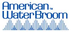 American Water Broom Logo