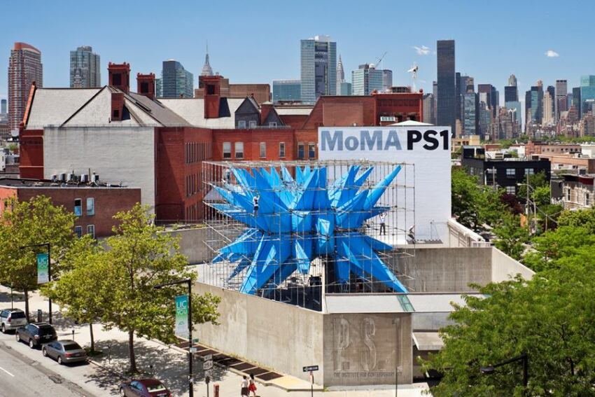 Construction Complete on HWKN's Wendy at MoMA PS1