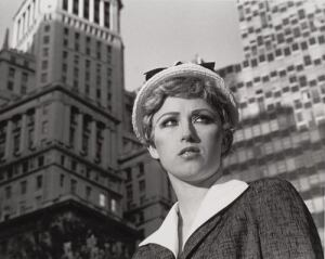 "Cindy Sherman's ""Untitled Film Still #21"" (1978) summons the promise and anxiety of New York noir."