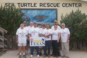 IPSSA Texas Volunteers Rescue Endangered Sea Turtles