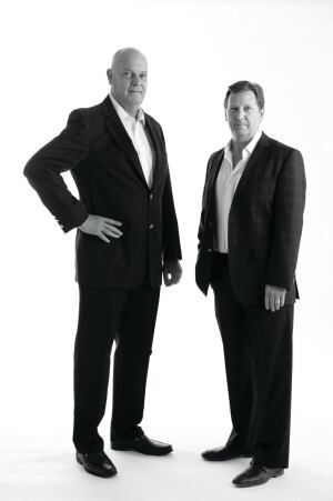 Gary Hartogh andTodd Ullom of Couture Homes.