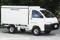 Low-speed electric truck
