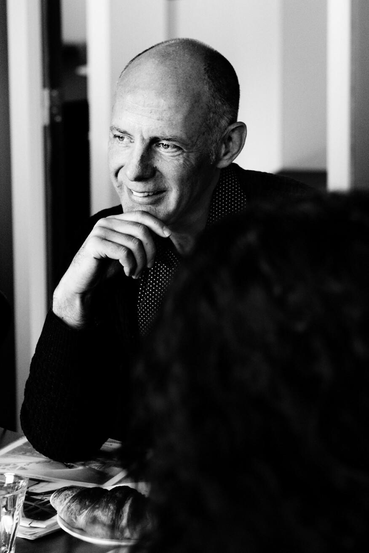Architect Ben van Berkel of UNStudio