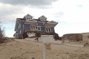 Sandy Still Raining Down on New Jersey Shore