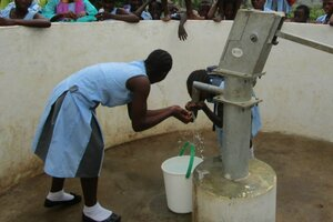 Two Master-Pools-Sponsored Wells Installed in Sierra Leone