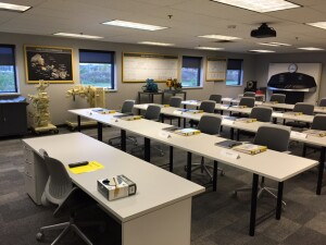 Putzmeister's training facilities have been updated with a fresh look, new furniture and hands-on learning equipment.
