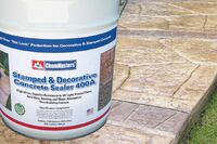 ChemMasters Stamped & Decorative Concrete Sealer 400A