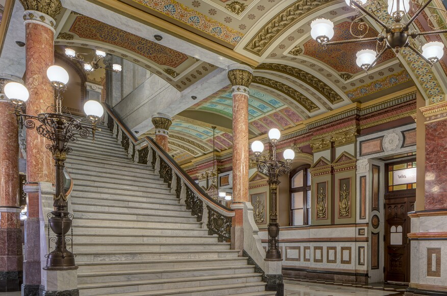 Illinois State Capitol West Wing Restoration Architect