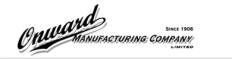 Onward Mfg. Co. Ltd. Logo