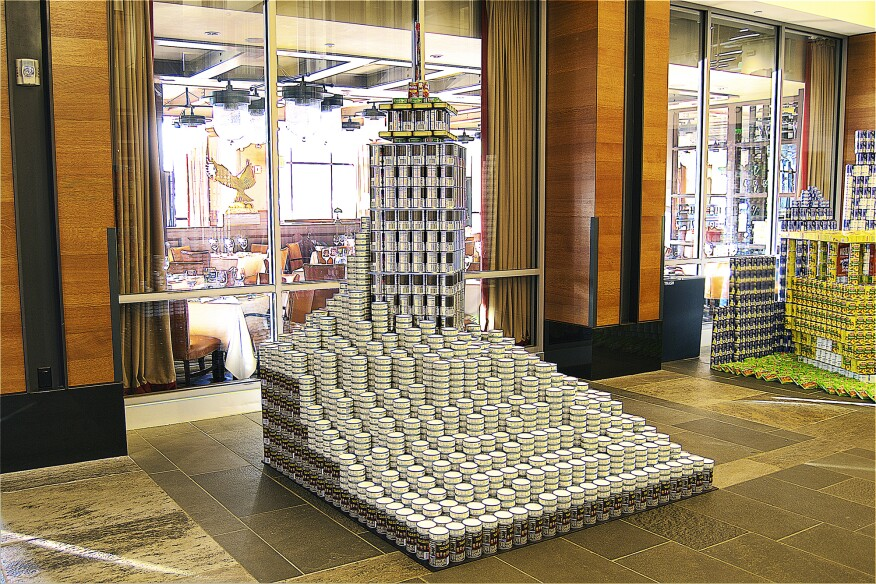 The Day After PRUmorrow 2: The CANtastrophe, by Goddard Design and Engineering (3,797 cans)