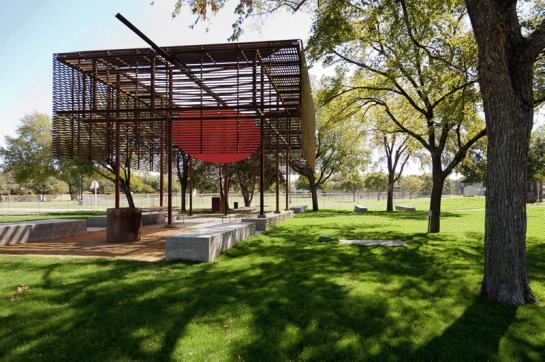 Pavilion at Cotillion Park, Dallas, by Mell Lawrence Architects