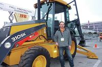 John Deere Operator Challenge at World of Concrete
