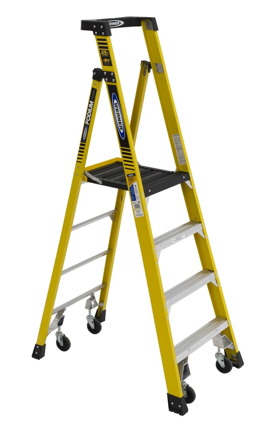 Step Ladder Turned To Small Staging Tools Of The Trade