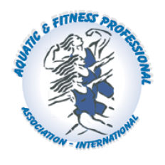 Aquatic & Fitness Professional Assn. Int'l. Logo