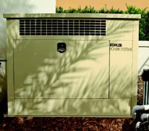 ABSOLUTE POWER: Hurricanes and power outages are facts of life in Florida, which is why the  InSync Home has a standby generator and automatic transfer switch from Kohler  Power Systems. The generator automatically restores power to the home's  pre-determined circuits when utility power fails, and then reverses the process  when utility power resumes. It uses a General Motors 1.6-liter overhead  four-cylinder engine.