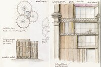 London's Royal Academy Exhibits Chris Wilkinson's Sketchbooks
