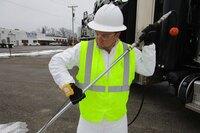 Emergency-Stop Wrist Strap for Vactor Excavators