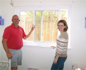 Crews for Weatherite, in Sacramento, Calif., routinely install the first window, complete and finished, then invite homeowners to inspect their work.